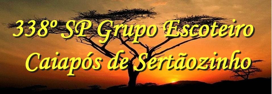 338º SP Grupo Escoteiro Caiapós de Sertãozinho