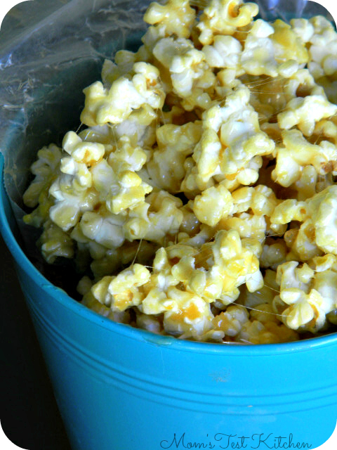 Marshmallow Caramel Corn