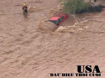 Lũ lụt trái mùa xảy ra tại Mỹ vì Mỹ cho phép Kết Hôn Đồng Tính?