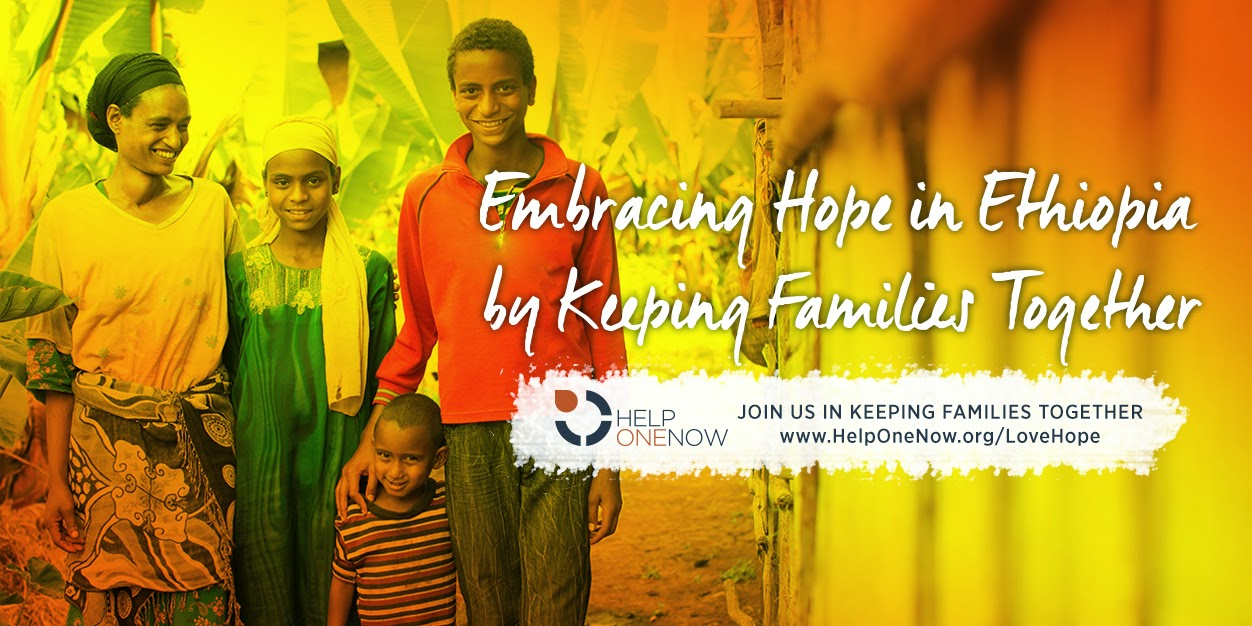 Stories of how @HelpOneNow is preventing orphans. #lovehope