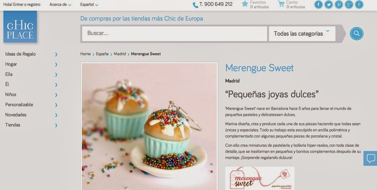 Merengue Sweet en ChicPlace