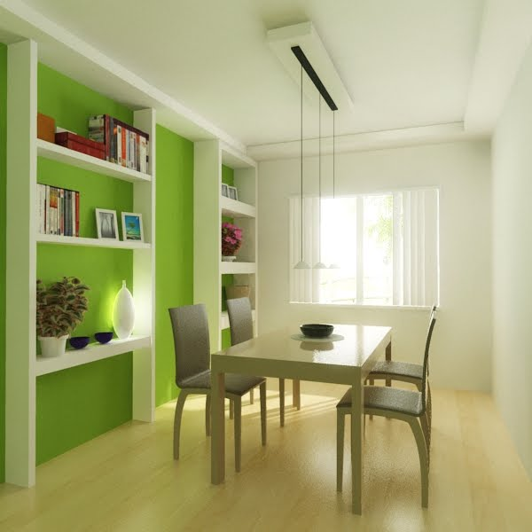 Green dining room ideas pictures prime home design for Dining room ideas green