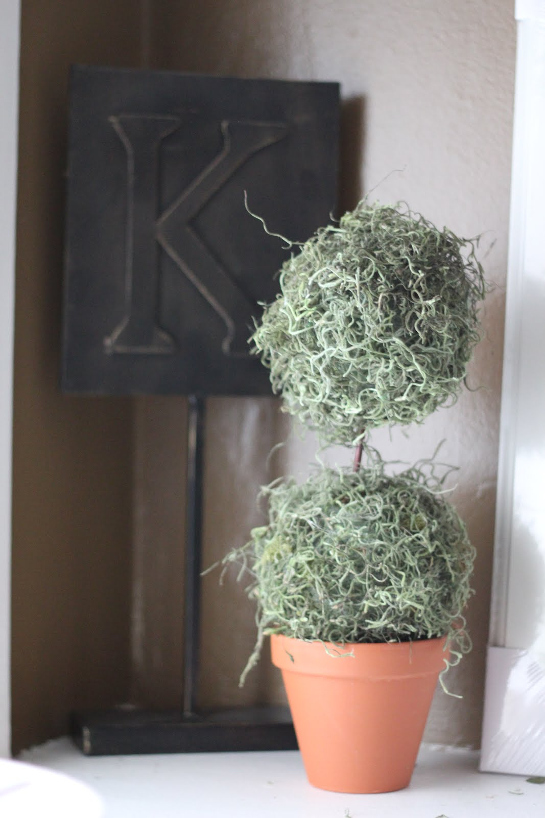 Spanish moss for crafts - Spanish Moss Topiaries