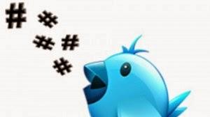 Twitter hashtags image