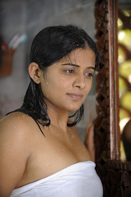 Tamil Actress Priyamani in Towel Wet Photos