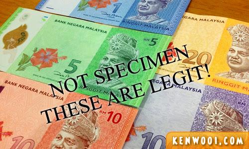 malaysian money new notes