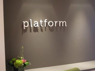 a peek at platform space