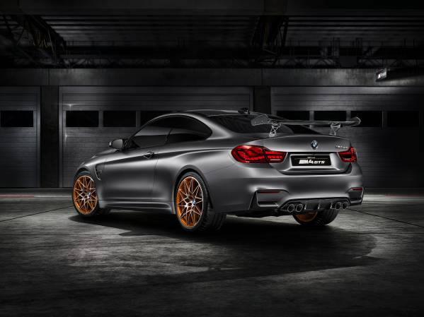「BMW Concept M4 GTS」リア画像