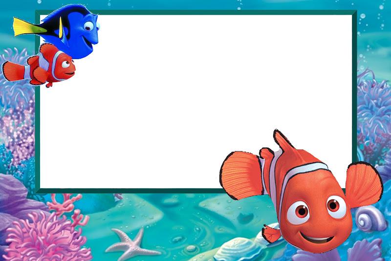 Nemo - Kit Completo com molduras para convites, rótulos para guloseimas, lembrancinhas e imagens ...