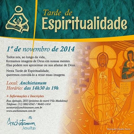 Tarde de Espiritualidade - Novembro 2014