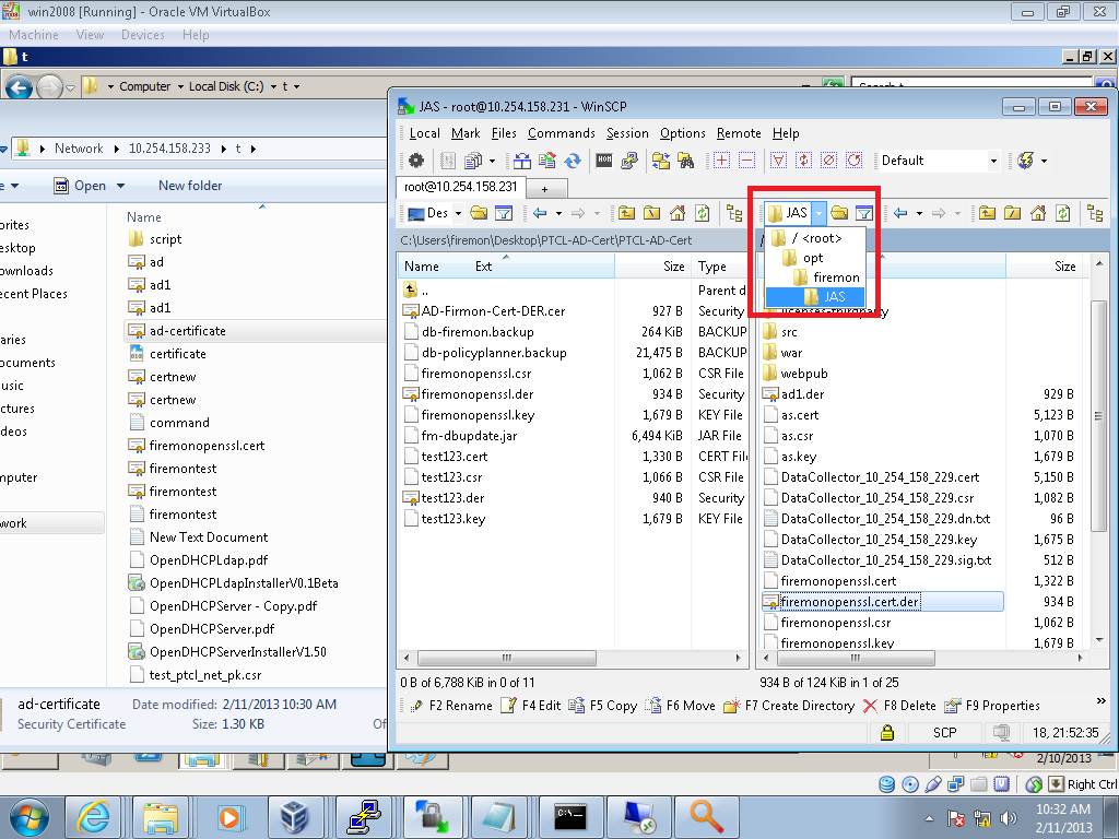 How to integrate firemon with active directory to authenticate in order to upload the certificate to the above mentioned path you can use winscp to upload the certificate 1betcityfo Gallery