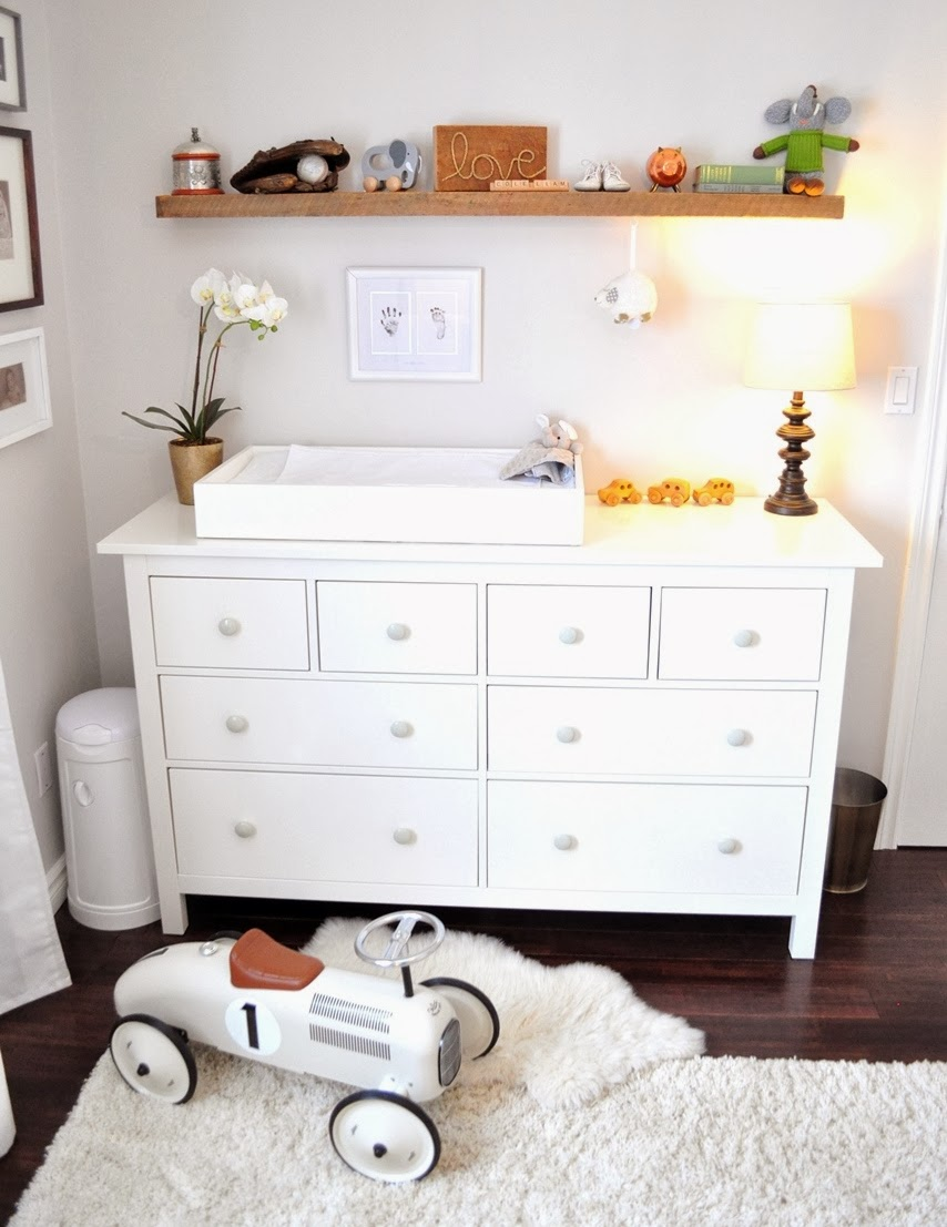 Nursery Change Table Topper DIY