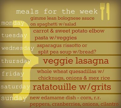meals for the week, menu, food, food planning, vegetarian menu, family menu, family planning menu, vegetarian weekly meals