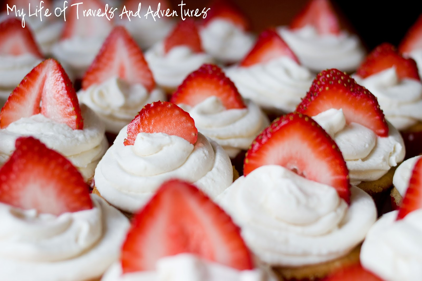 My Life of Travels and Adventures: Strawberry Shortcake Cupcakes