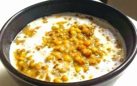 Resep bubur kacang hijau lembut