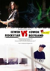 "Cerbung ""Cewek Rockstar VS Cowok Boyband"""