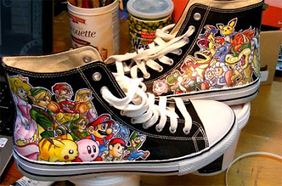 Converse All Star Nintendo