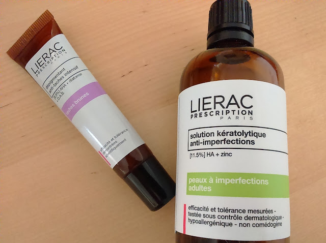 Lierac Prescription Solution Keratolytique Anti-Perfections and  Depigementant Anti-tache intensif