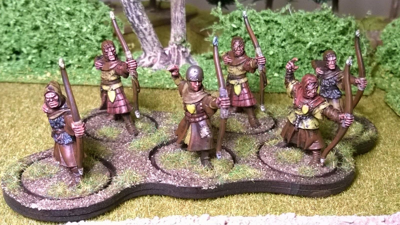lions rampant bidowers bretonnian archers lion's