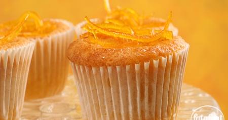 طريقة عمل كب كيك السميد والبرتقال