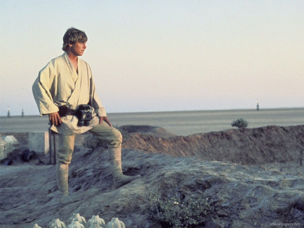 Luke Skywalker Gazing