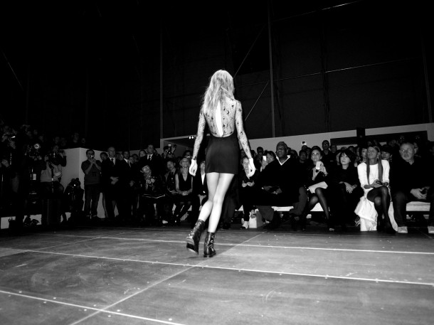Saint Laurent AW13. Paris Fashion Week