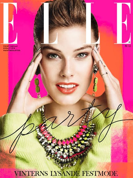 elle sweeden december 2012 cover