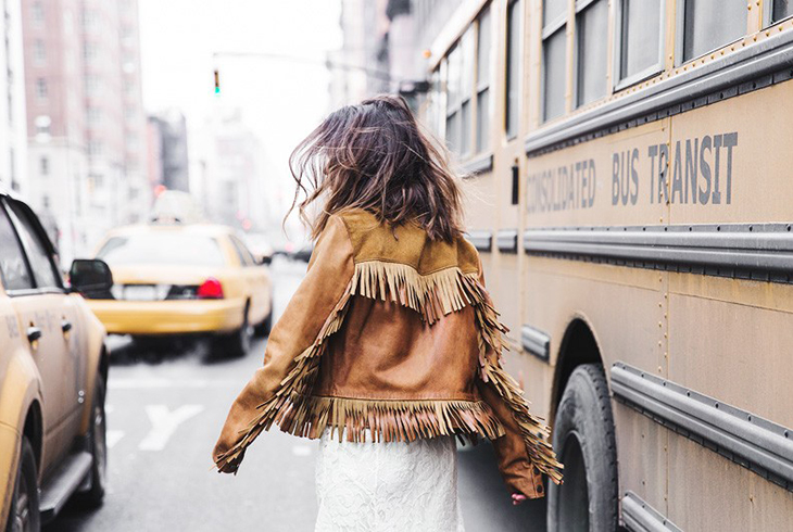 Fashion Attacks inspiration fringe fringes jacket