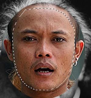 tutorial photoshop mengganti wajah orang
