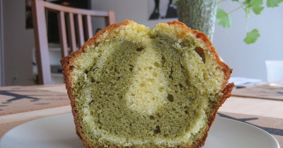 Baking With Em&M: Lemon and Matcha Marble Pound Cake