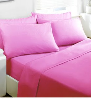 Sprei Polos Pink