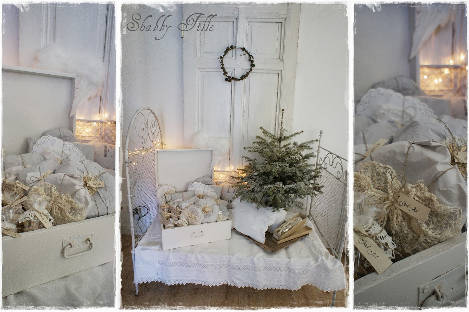 shabby fille weihnachtsbilder. Black Bedroom Furniture Sets. Home Design Ideas