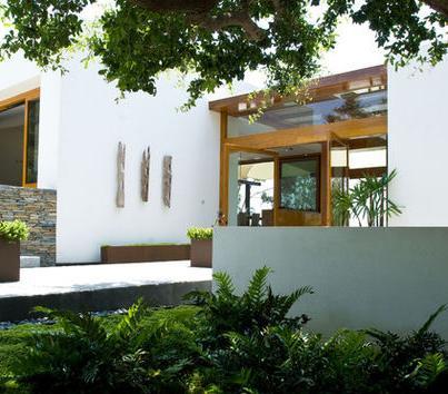 Fotos de jardin modelos de jardines de casas modernas for Fachadas de jardines para casas