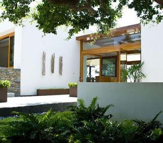 jardines exteriores de casas modernas dise os