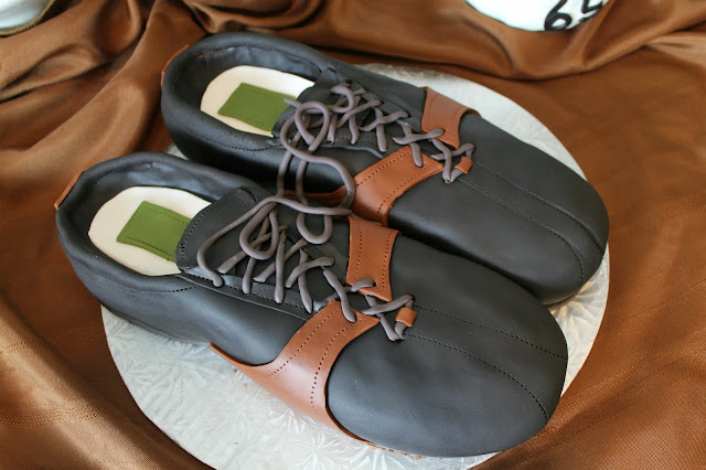 Golf Shoes Cake