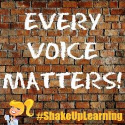 #shakeuplearning