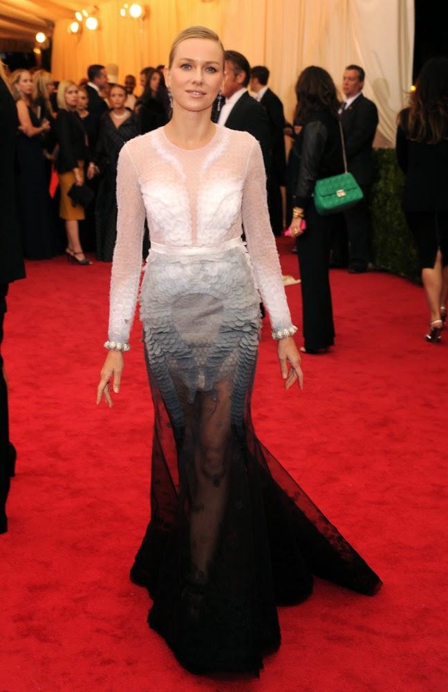 Naomi Watts, Met Gala 2014 Red Carpet