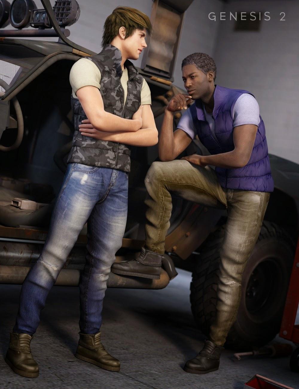 Urban Metro Outfit Textures
