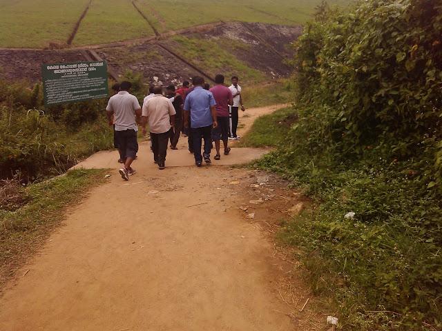 Path towards Banasura Sagar Dam