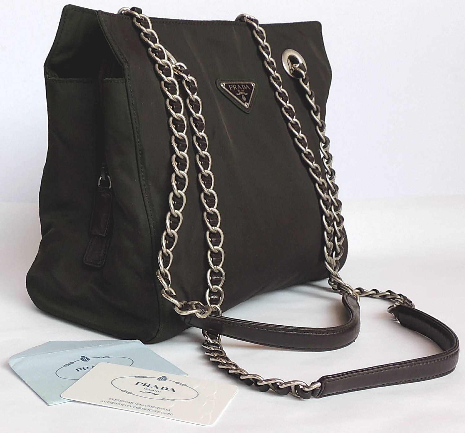 Authentic PRADA Chain Shoulder Bag