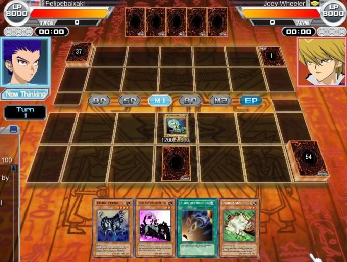game YU-GI-OH! Online Duel Evolution