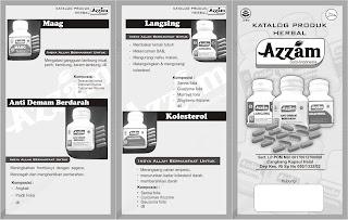 produk herbal, azam herbal pesan hubungi 085725785231