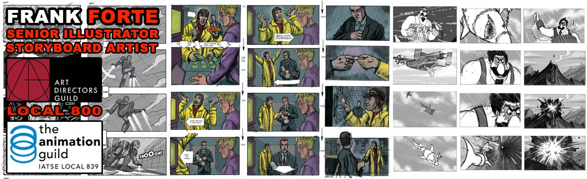Frank Forte Film Storyboards
