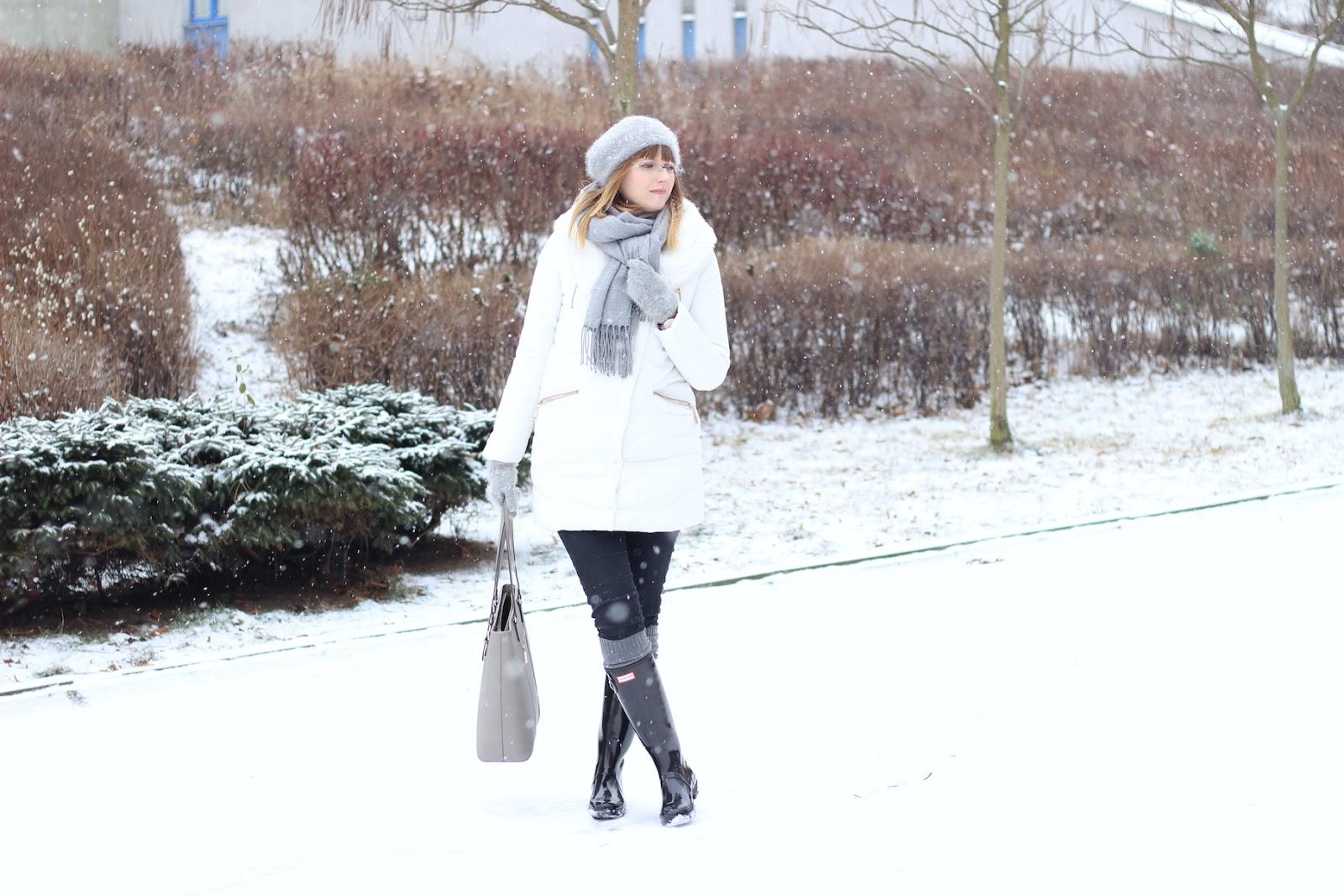 Biało w mieście - zimowy spacer