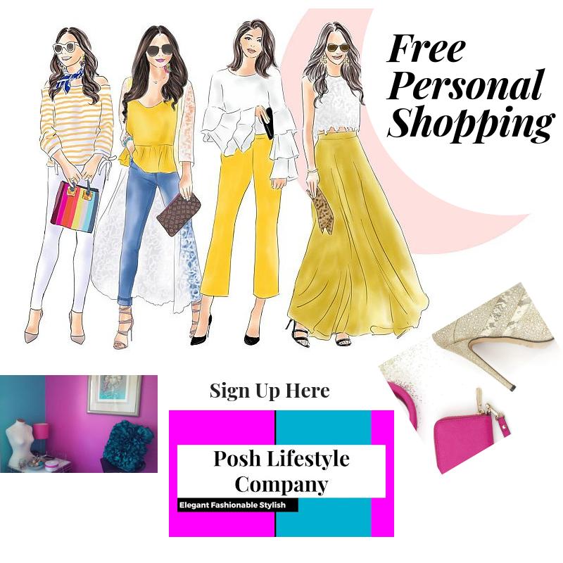 Free Personal Shopping, Styling, Wardrobing, Everyday Lifestyle Shopping