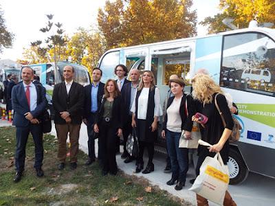Πιλοτικές δοκιμές αυτοματοποιημένων οχημάτων μαζικής μεταφοράς επιβατών, χωρίς οδηγό στα Τρίκαλα