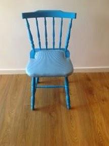 Tapizado silla retro