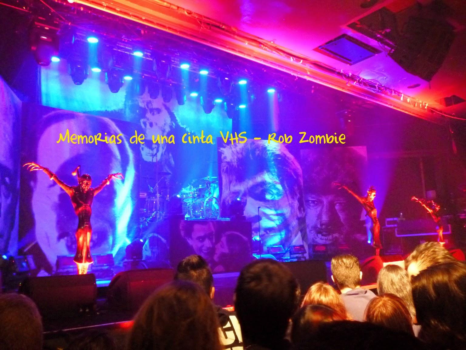 Rob Zombie, Madrid, La Riviera