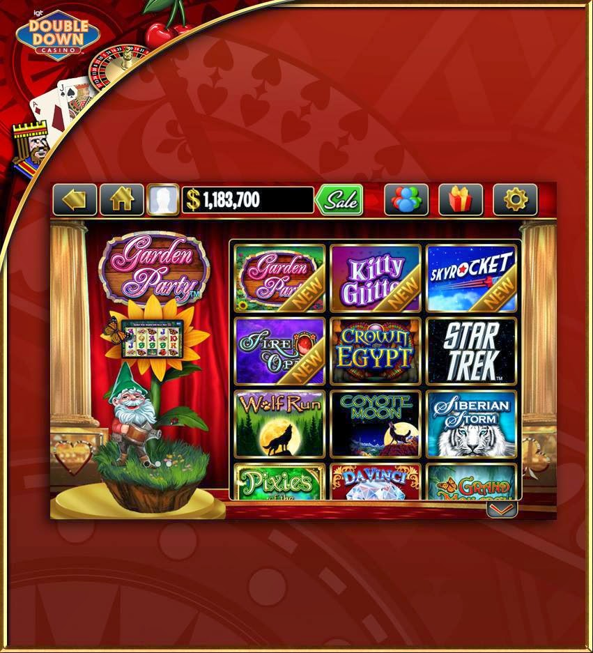 free slots double down casino