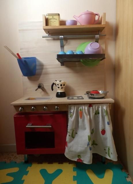 La felice stagione scatole no cucina giocattolo fai da te - Cucina da esterno fai da te ...